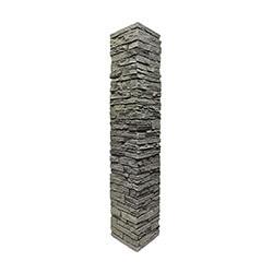 StoneWorks Faux Stone Railing Post Covers Model 100947041 Deck Railings