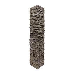 StoneWorks Faux Stone Railing Post Covers Model 100947051 Deck Railings