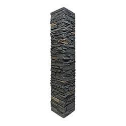 StoneWorks Faux Stone Railing Post Covers Model 100947071 Deck Railings