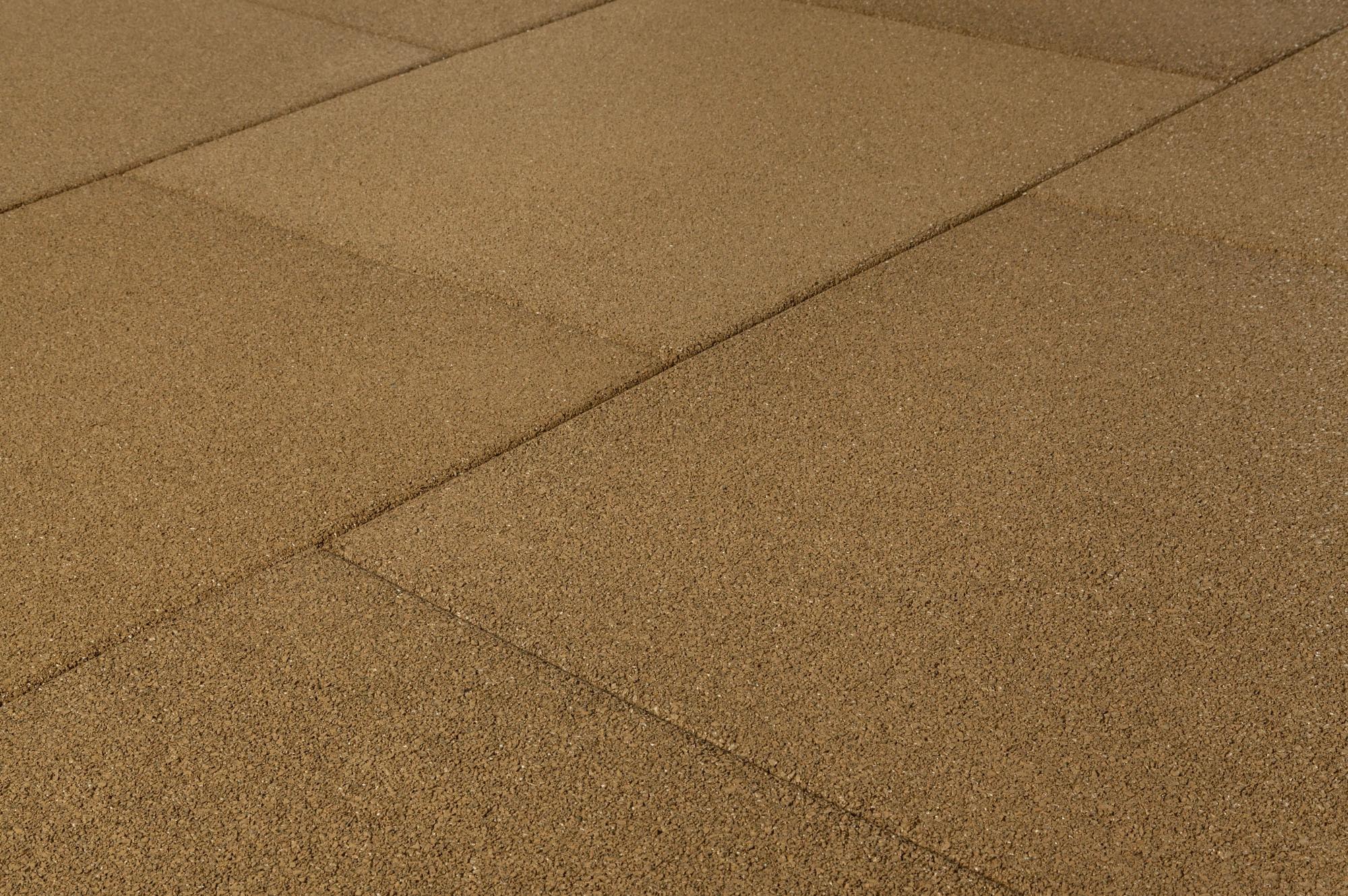 Brava outdoor interlocking rubber pavers beige pigment smooth 24 x24 x3 4 - How to install interlocking deck tiles ...