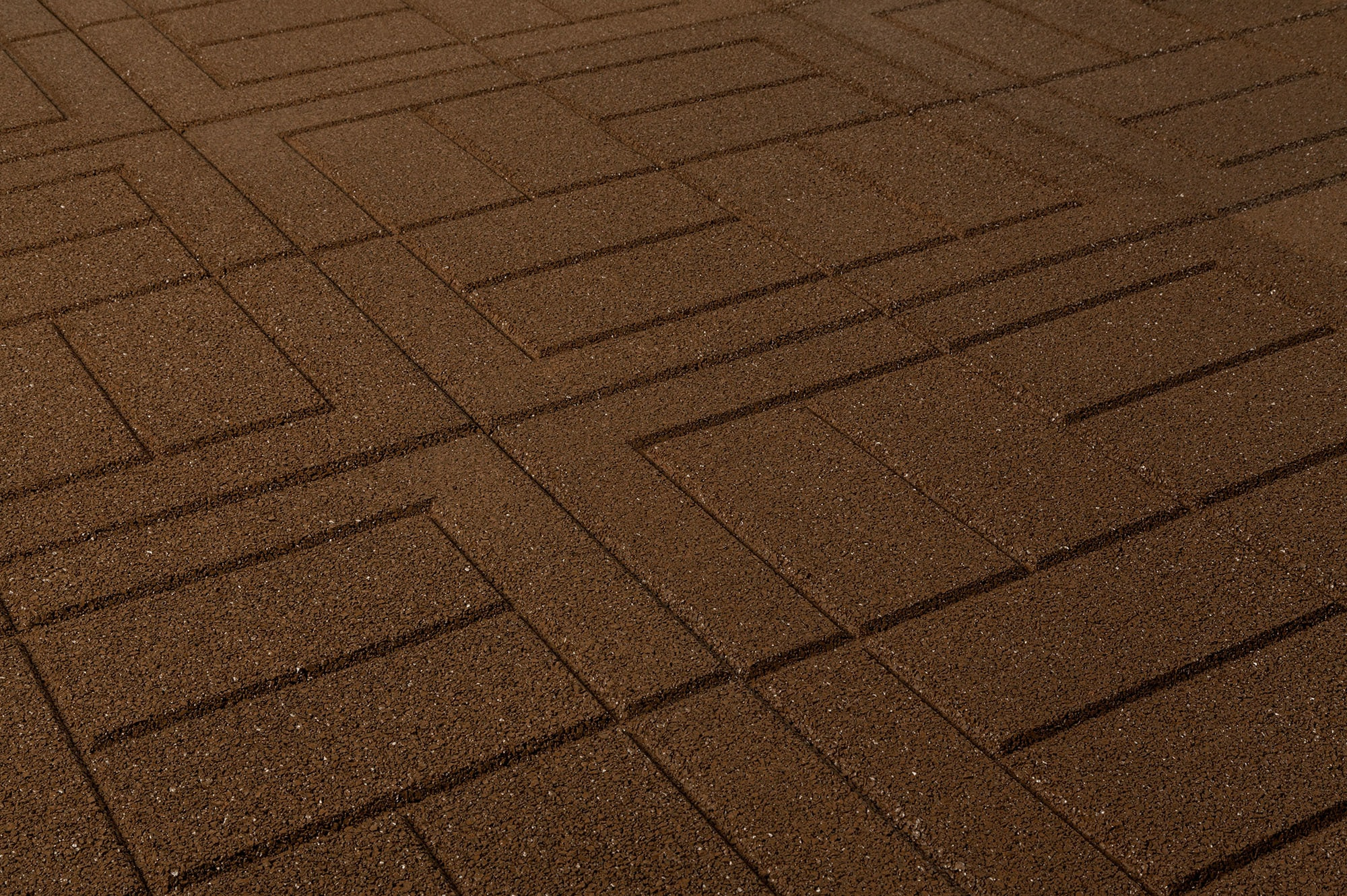 brava outdoor interlocking rubber pavers teak brown