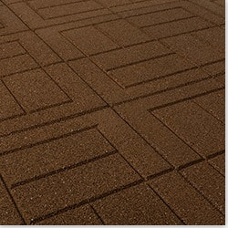 Brava Outdoor Interlocking Rubber Pavers Model 100943861 Outdoor Pavers