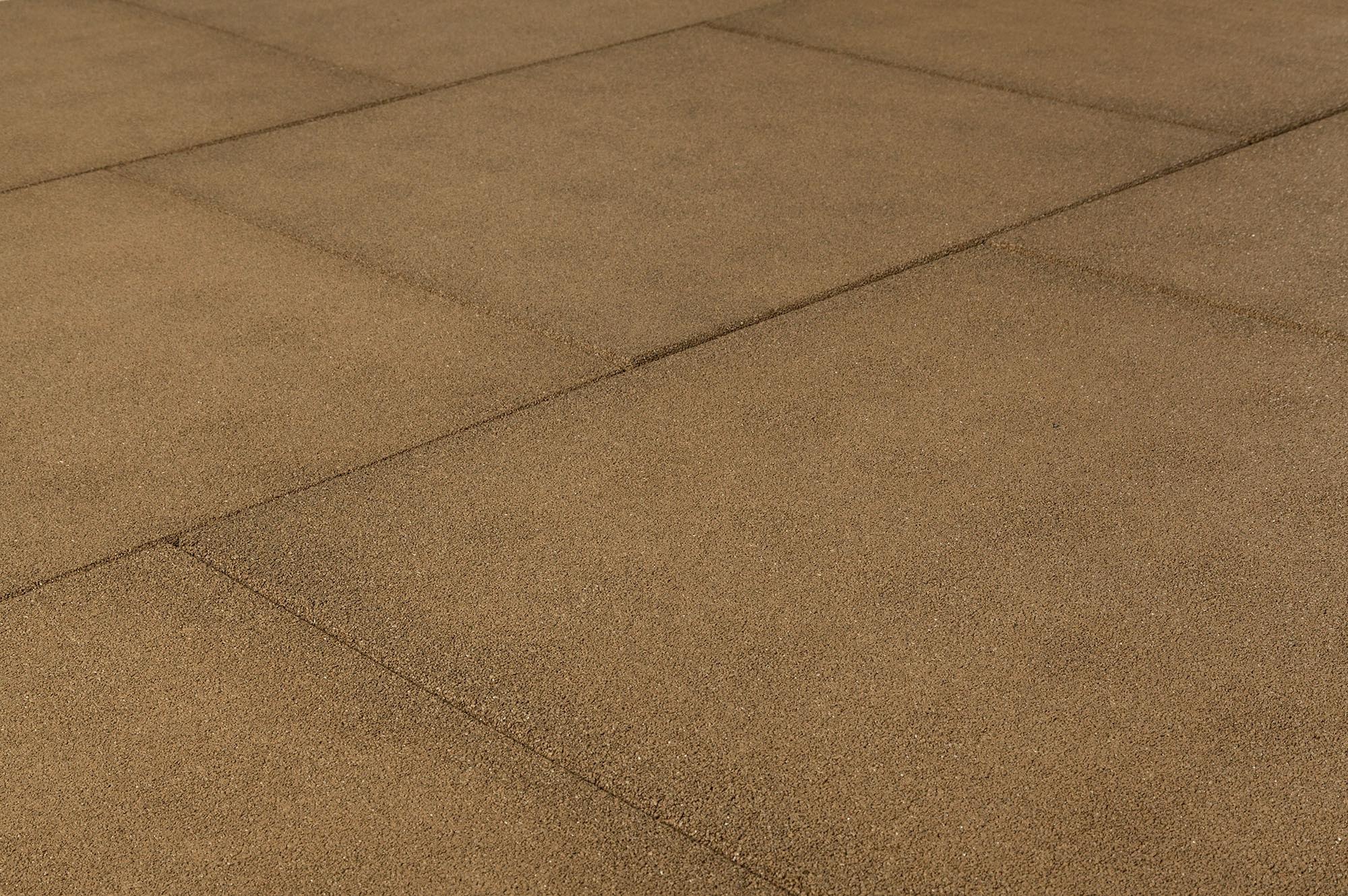 Backyard Rubber Tiles : Brava Outdoor Prestige Rubber Tiles Pigment Stone Beige24x24x2 1