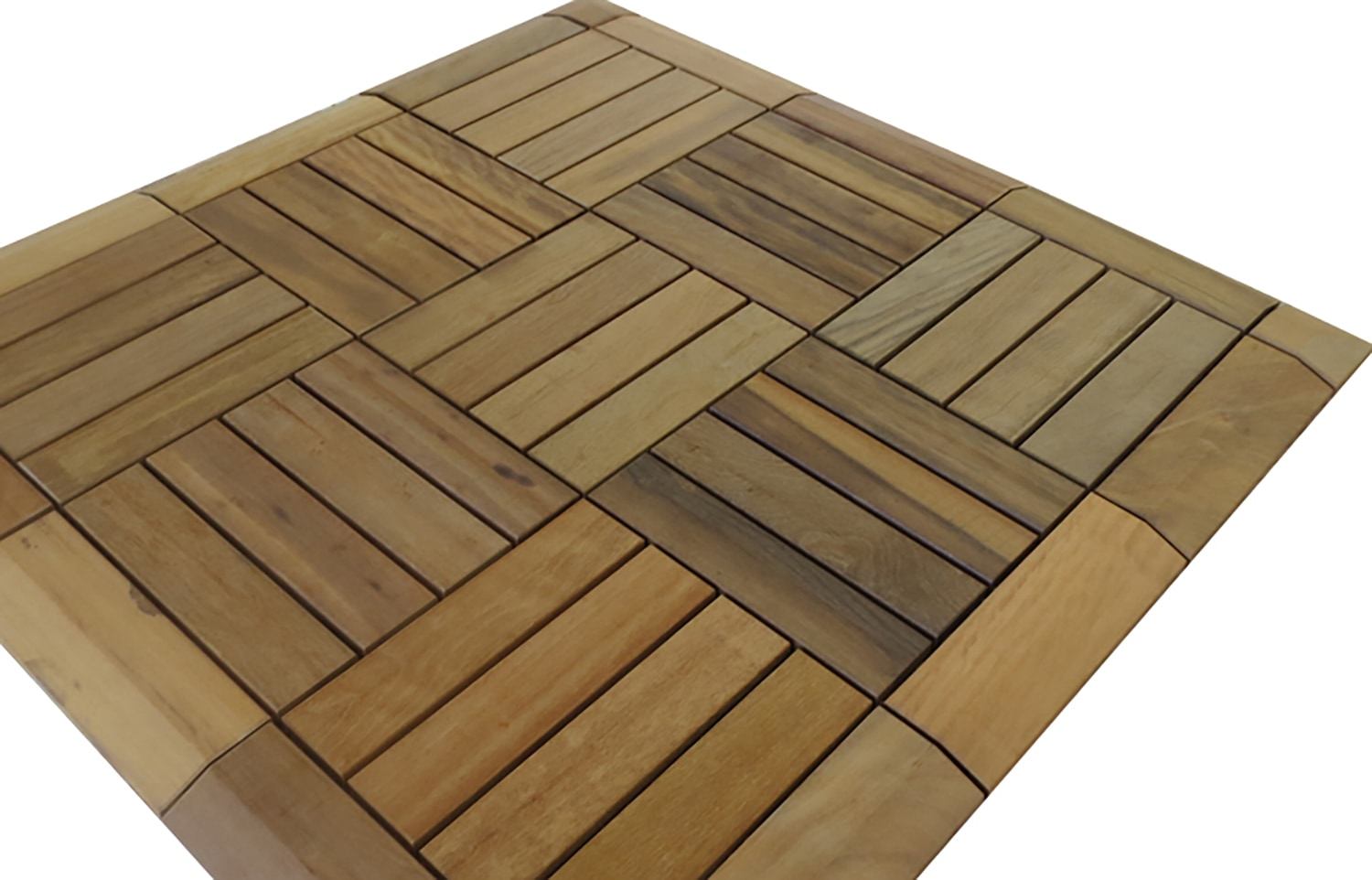 flexdeck brazilian hardwood deck tile interlocking deck