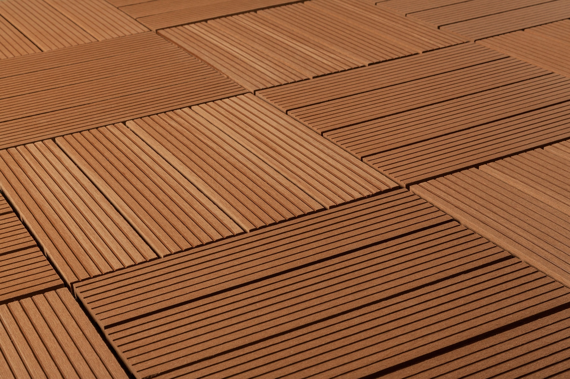 Kontiki composite interlocking deck tiles classic 25 for Composite deck flooring