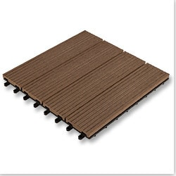 Kontiki Composite Interlocking Deck Tiles Basics Series Model 100943751 Deck Tiles