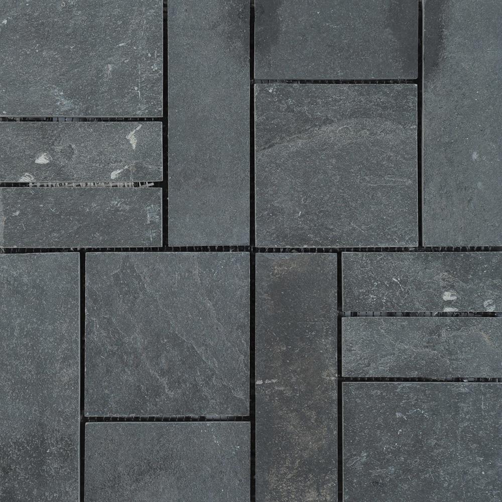 Kontiki interlocking deck tiles versa tile earth collection midnight slate 12 x12 - How to install interlocking deck tiles ...