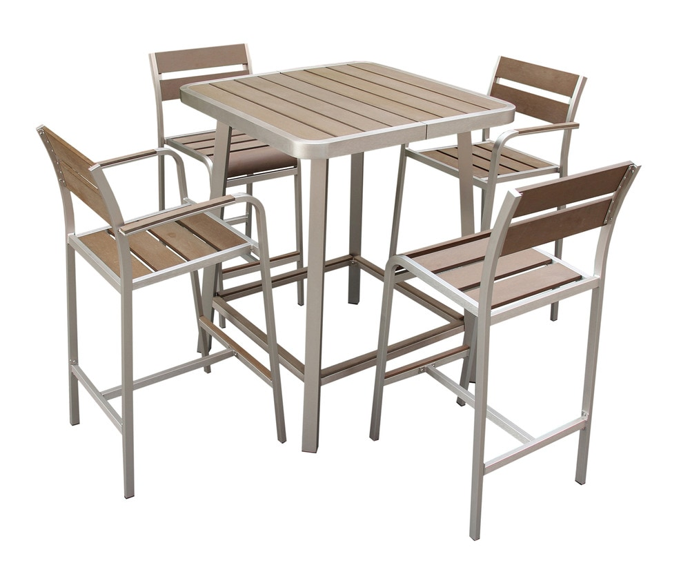 Composite Dining Set : Kontiki dining sets composite bar balcony height