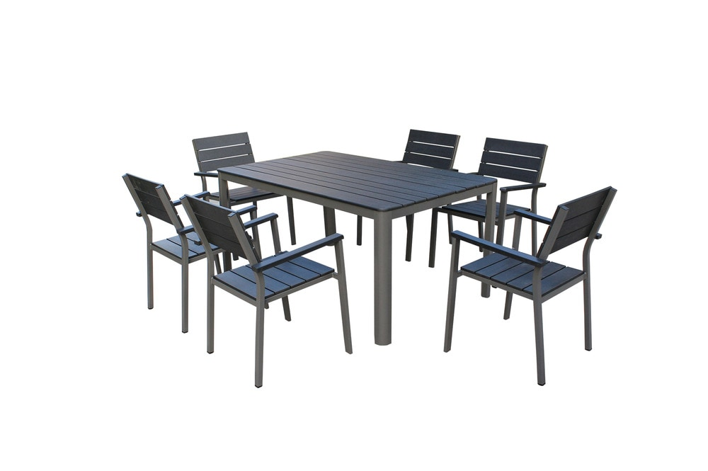 Kontiki Dining Sets posite Medium Ideal for 6 Seats