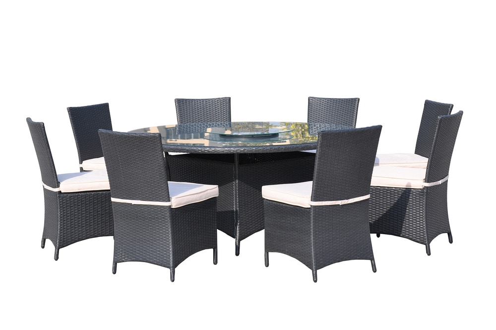 kontiki dining sets wicker large ideal for 8 or more
