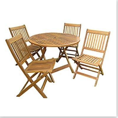 Kontiki dining sets wood small ideal for 4 seats for Small dining set for 2