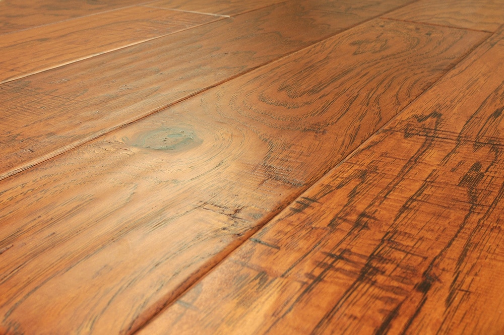 Free samples jasper engineered hardwood handscraped for Hardwood floors hickory