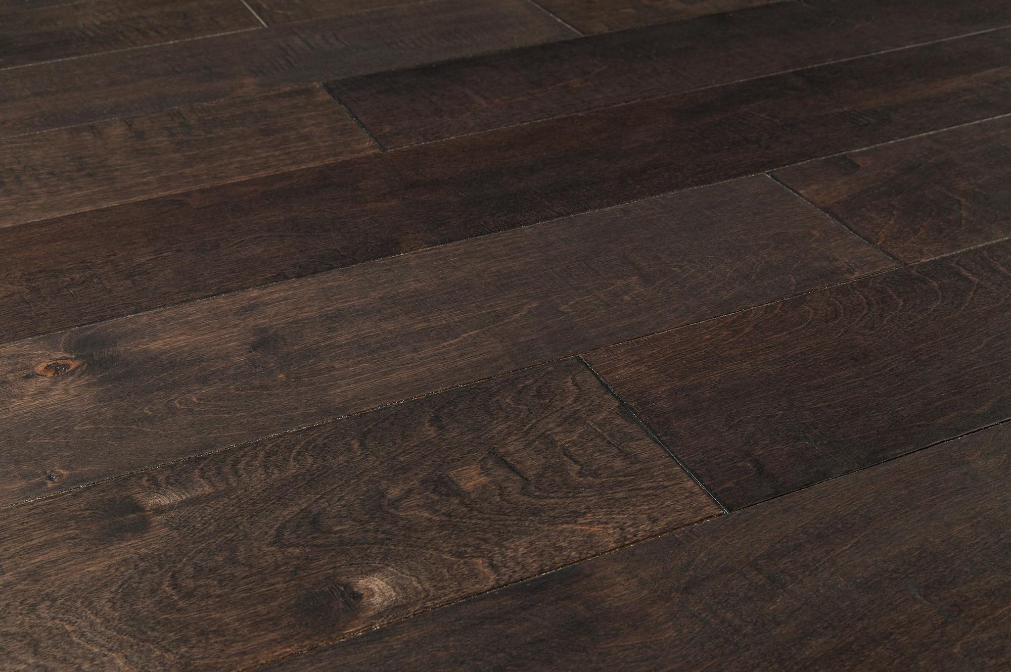 Vanier engineered hardwood birch metallic collection for Birch hardwood flooring