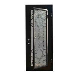 Grafton Exterior Wrought Iron Glass Doors Castle Full