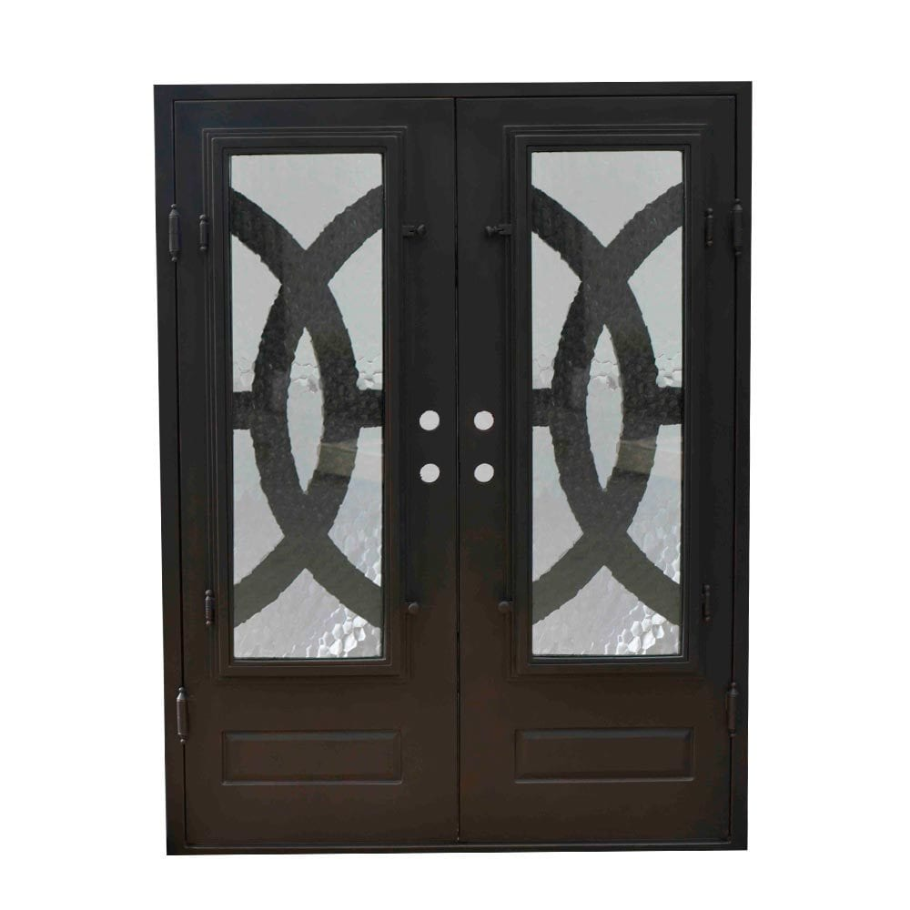 Grafton exterior wrought iron glass doors eclipse Grafton exterior wrought iron doors