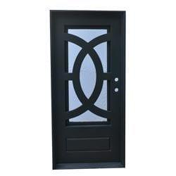 Grafton Exterior Wrought Iron Glass Doors Eclipse Model 101046241 Exterior Doors