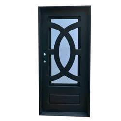 Grafton Exterior Wrought Iron Glass Doors Eclipse Model 101046251 Exterior Doors