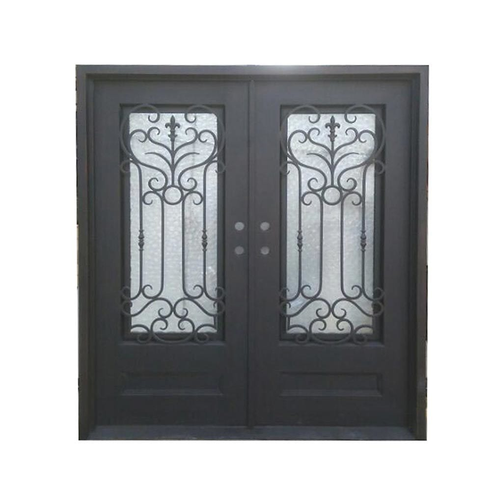 Grafton exterior wrought iron glass doors roman collection Grafton exterior wrought iron doors