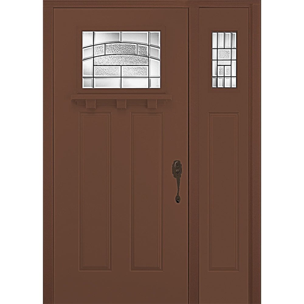 New concept exterior doors pre hung steel element for Quality doors
