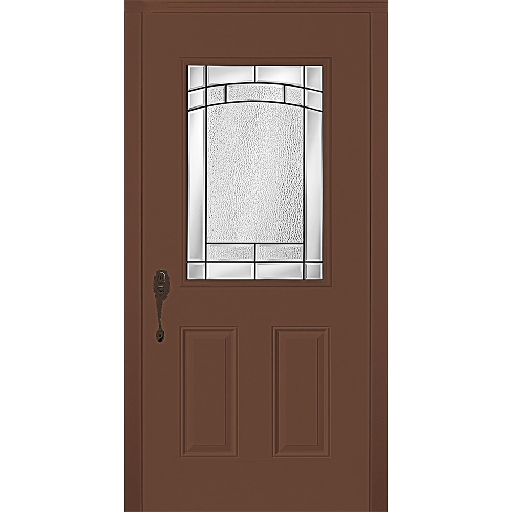 New concept exterior doors pre hung steel element for Pre hung doors