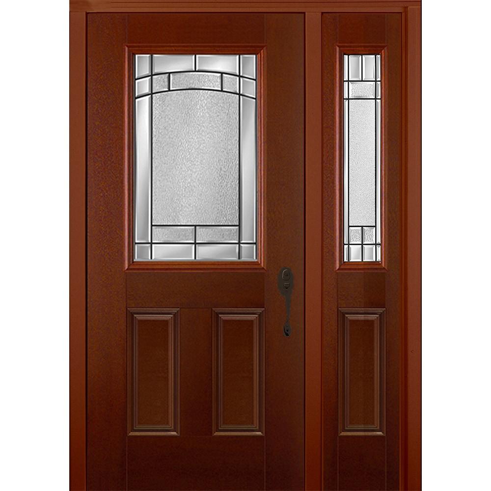 New Concept Exterior Doors - Pre-Hung Textured Fiberglass Element Fox ...