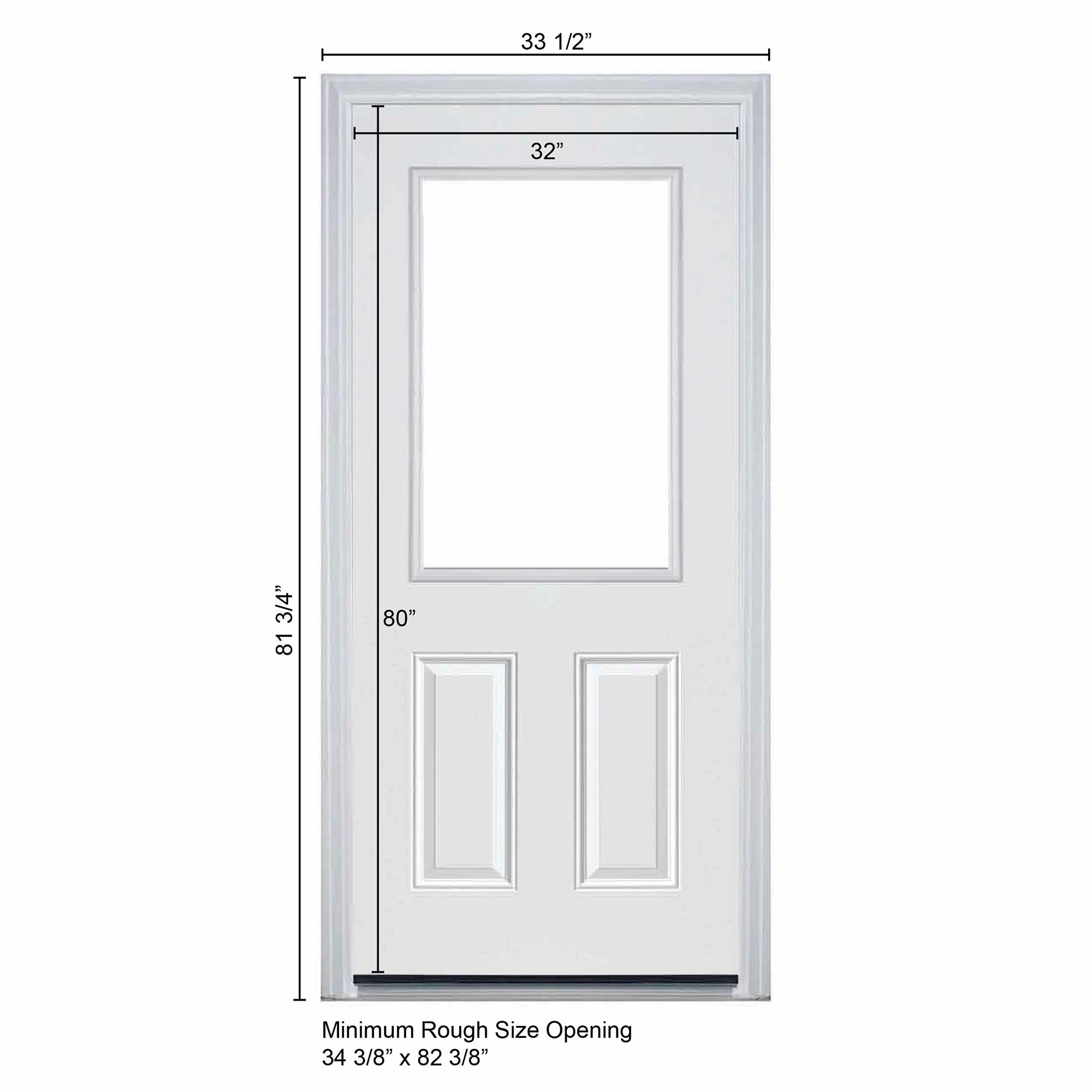 2000 #202128 New Concept Exterior Doors Pre Hung Steel Pandora Collection White  pic Pre Hung Exterior Doors 44512000