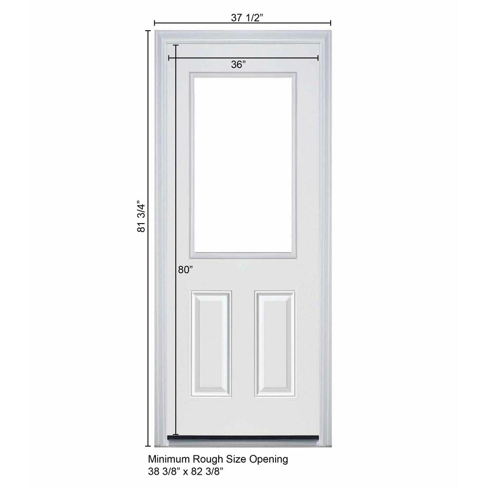 New concept exterior doors pre hung steel pandora for New exterior door