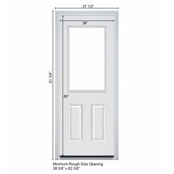 New Concept Exterior Doors - Pre-Hung Steel Mini-Blinds Collection ...