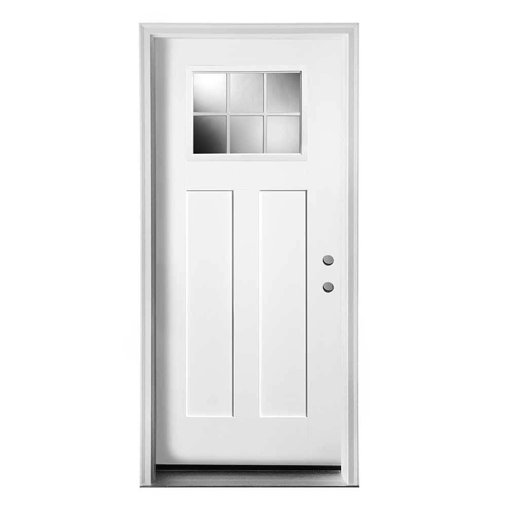New concept exterior doors pre hung steel craftsman for Exterior steel doors
