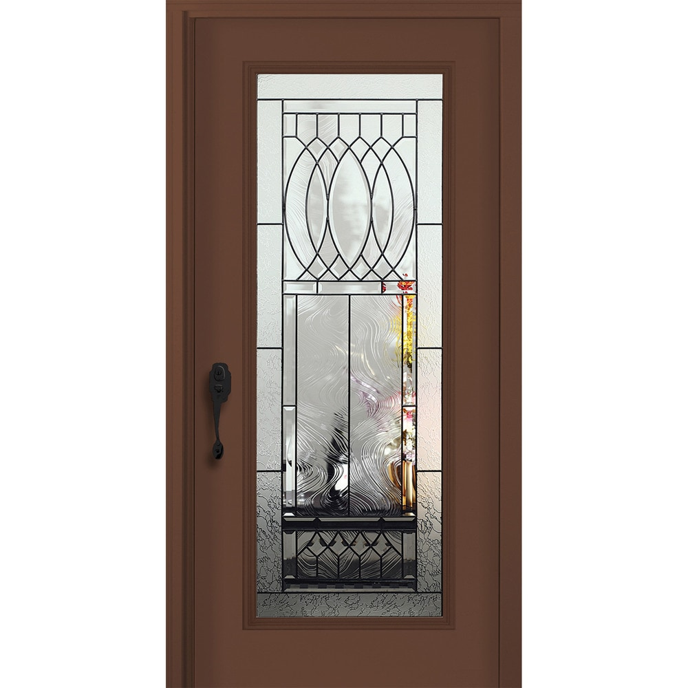 New concept exterior doors pre hung steel infinity doors for Pre hung doors