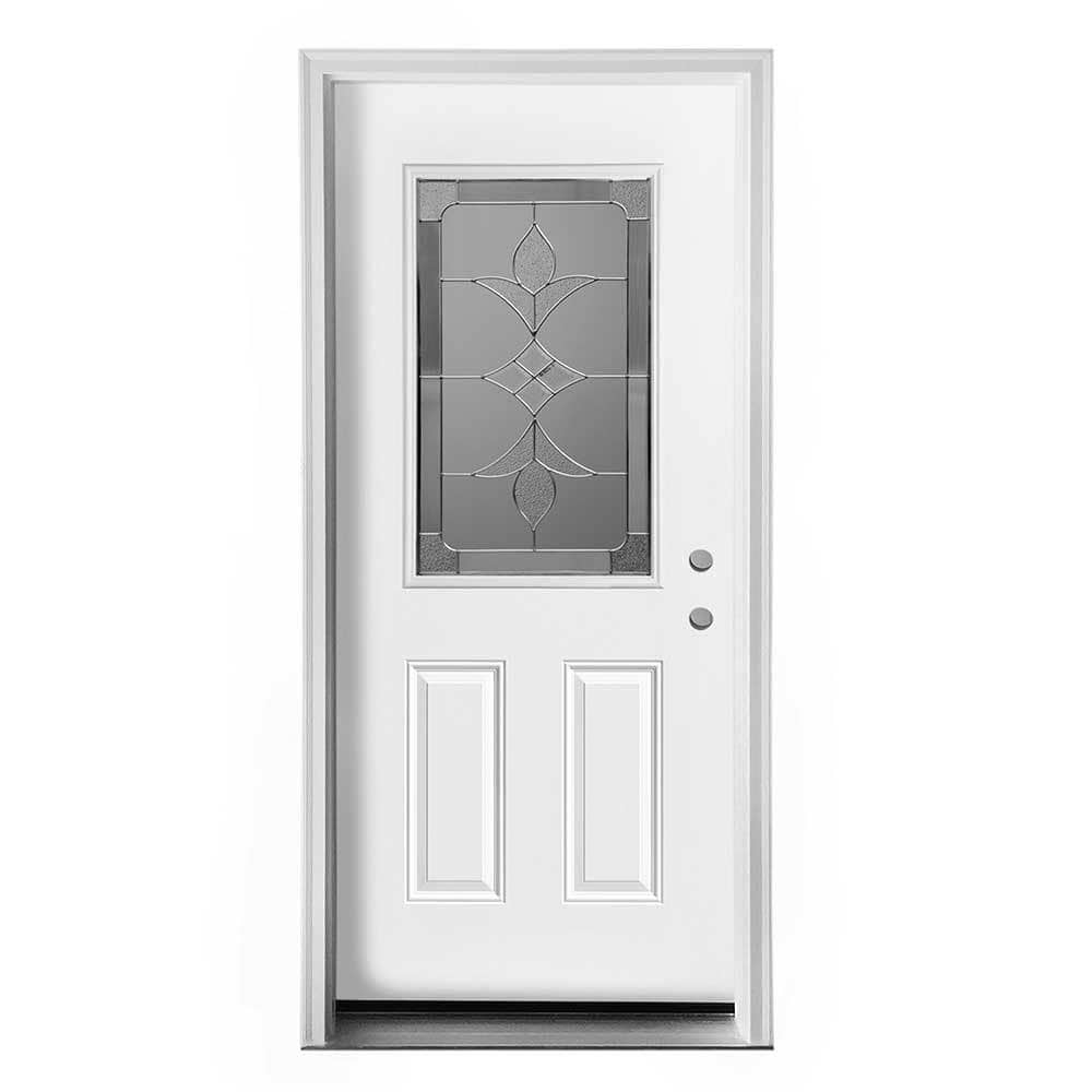 New concept exterior doors pre hung steel olympia for Pre hung doors