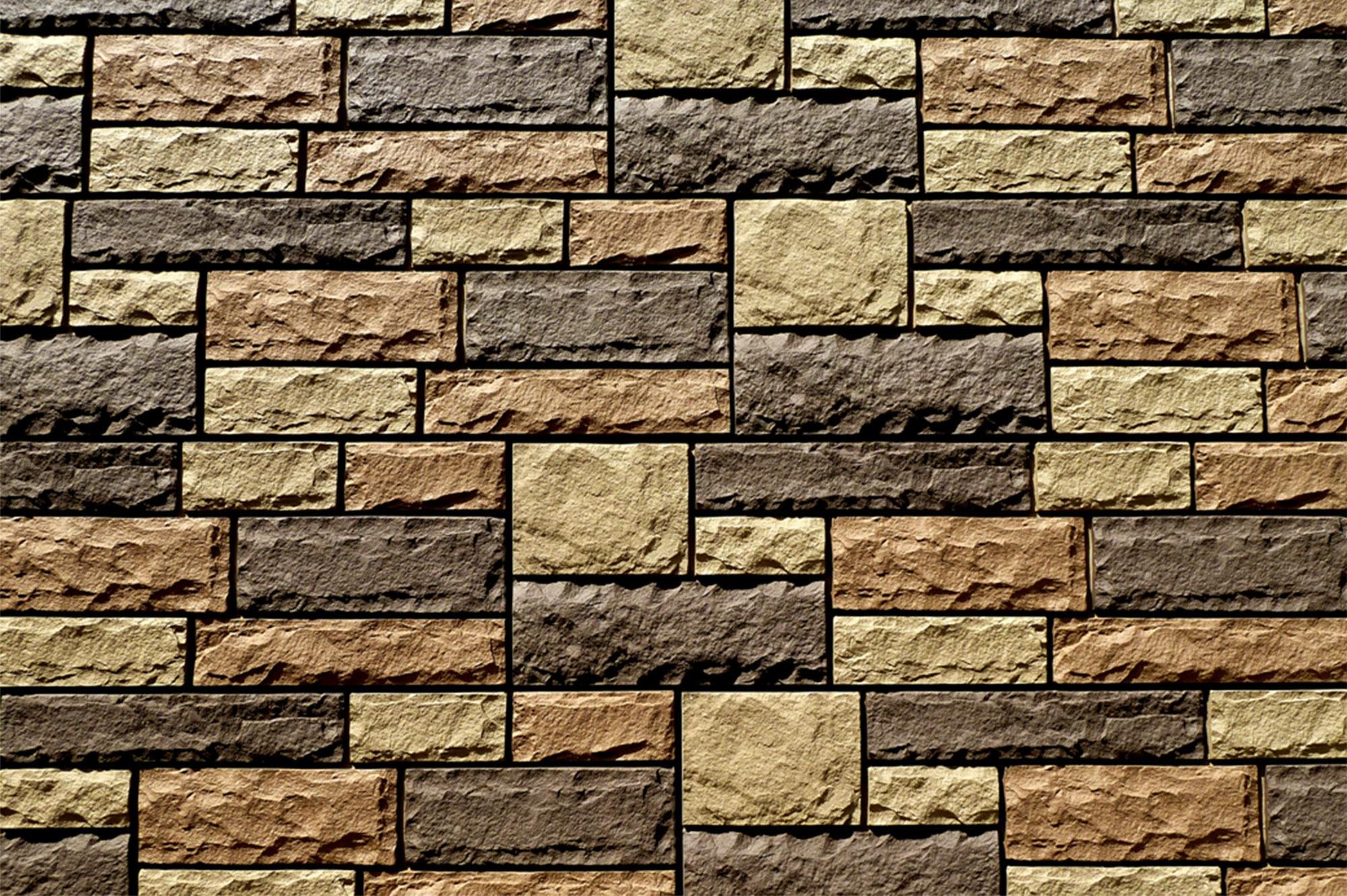 StoneWorks Faux Stone Siding Limestone Toffee Panel 48 X15 1 2