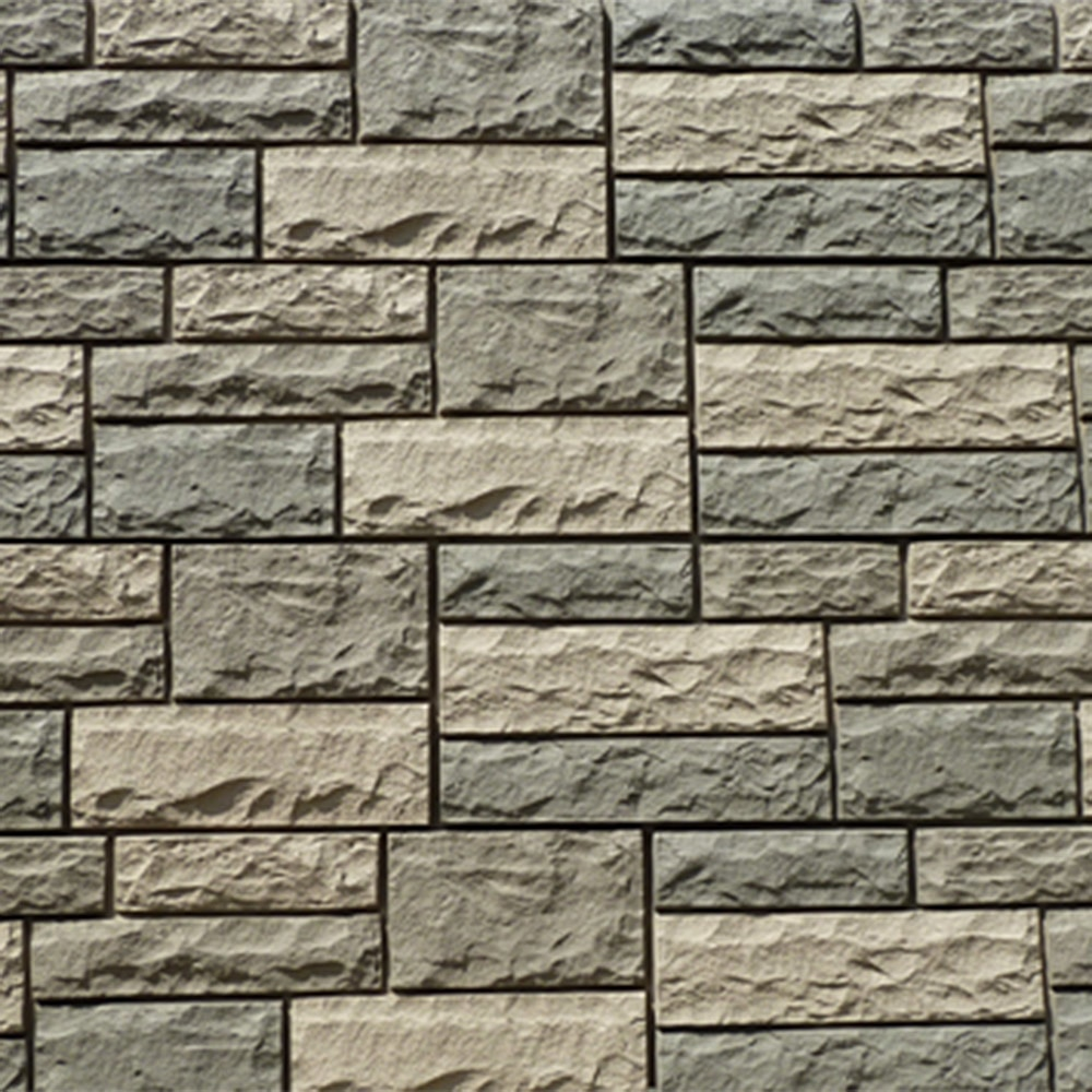 Stoneworks faux stone siding limestone panel 48 x15 1 2 Vinyl siding that looks like stone