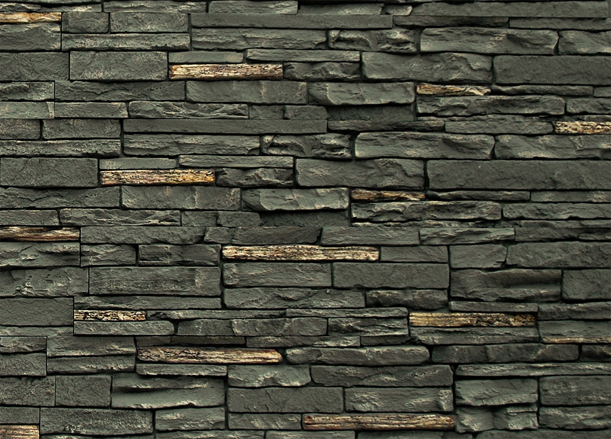 Stoneworks Faux Stone Siding Slate Stone Twilight Panel 43 X8 1 4 X1 3 4