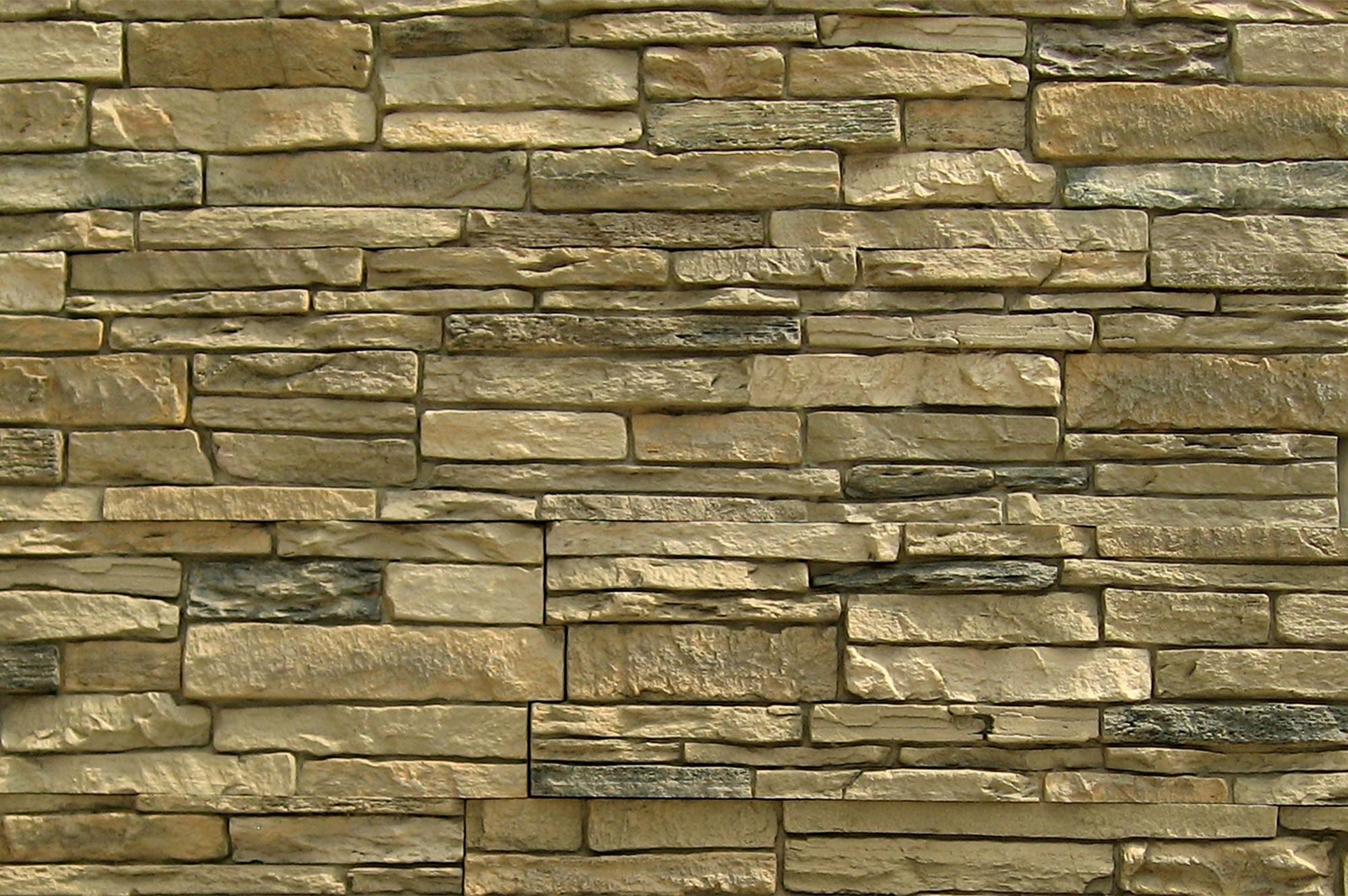StoneWorks Faux Stone Siding Slate Stone Amber Panel 43 X8 1 4