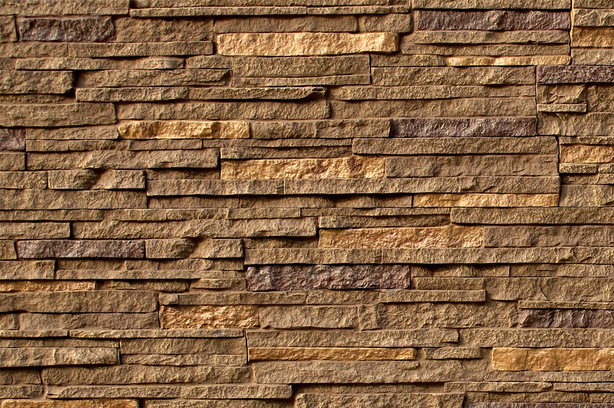 StoneWorks Faux Stone Siding Stacked Stone Hazel Nut Panel 46 1 2 X1