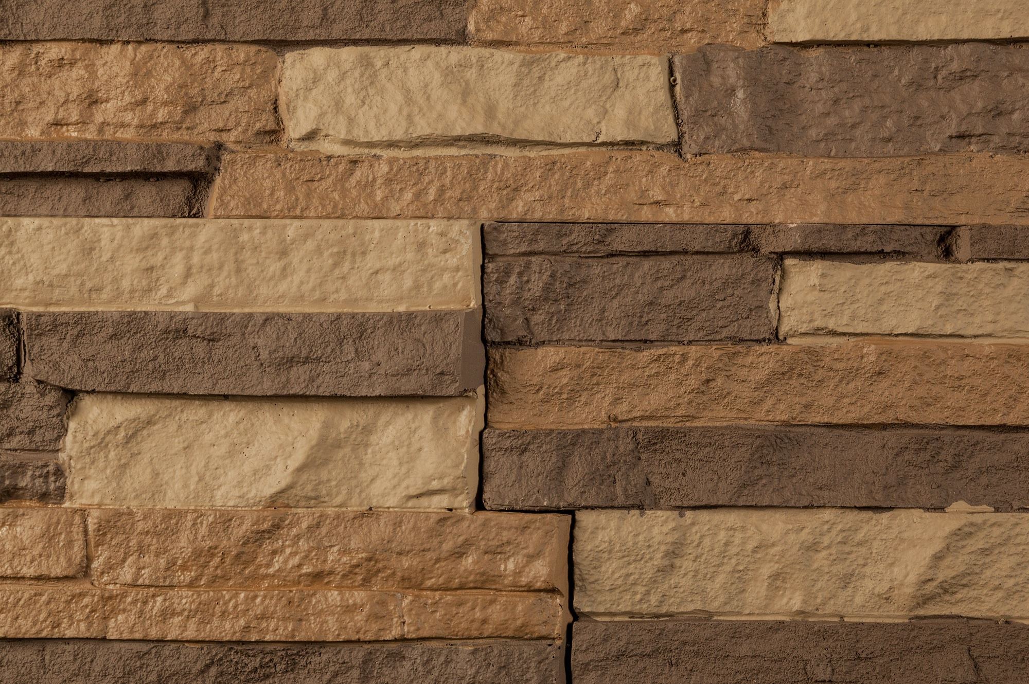 StoneWorks Faux Stone Siding Stacked Stone Toffee Panel 46 1 2 X13 1