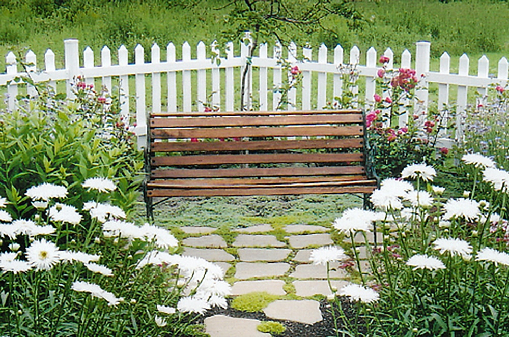 "- White Picket Fence Panel / 36""x66"" - sku:10098754"