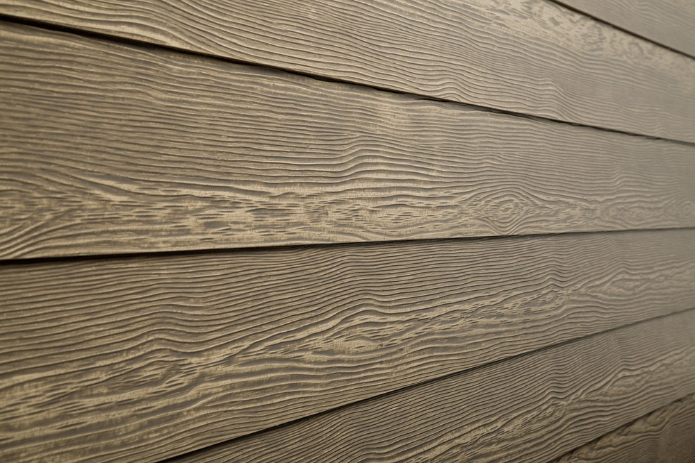 "7 Popular Siding Materials To Consider: Cerber Rustic Fiber Cement Siding River Rock / 5/16""x5 1/4"