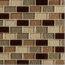 Cabot Glass Mosaic Crystalized Glass Blend Series Model 100980581 Kitchen Glass Mosaics