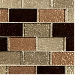 Cabot Glass Mosaic Crystalized Glass Blend Series Model 100980681 Kitchen Glass Mosaics