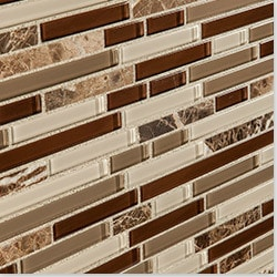 Cabot Mosaic Tile Glass Stone Blends Type 100828091 Kitchen Wall Tiles in Canada