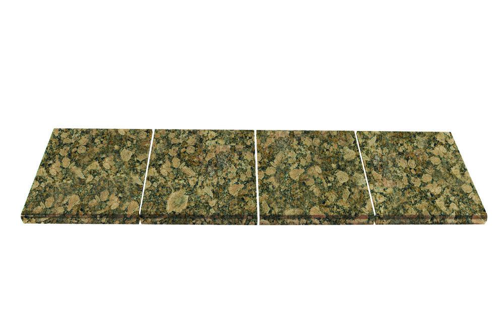 Modular Kitchen Tiles : Pedra Granite Modular Kitchen Tiles - Topstone Collection Giallo ...