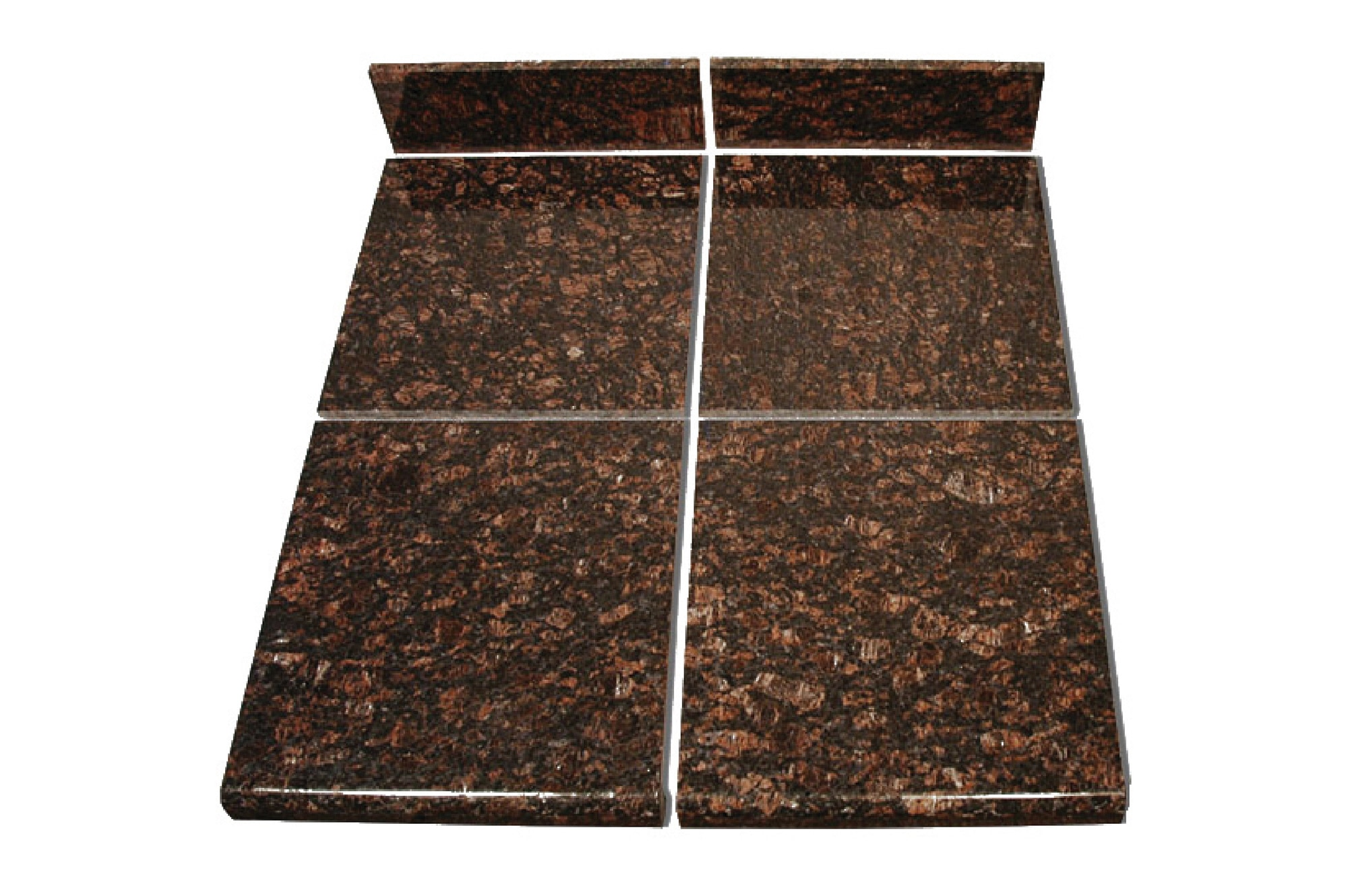 Pedra Granite Modular Kitchen Tiles - Topstone Collection Tan Brown ...