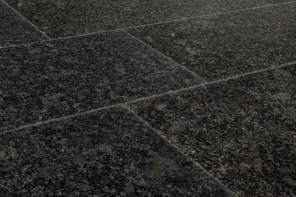 Agra Granite Tile Pallavas Collection Steel Gray 12