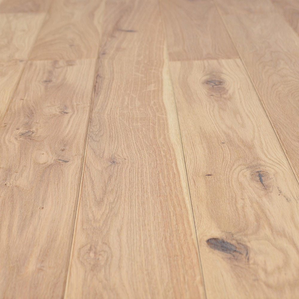 Free samples jasper hardwood european brushed oak for Natural oak wood flooring