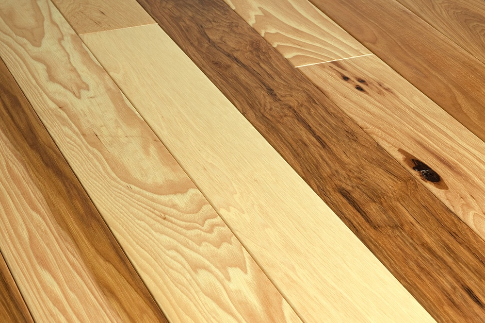 Jasper hardwood hickory collection natural hickory for Natural hardwood floors