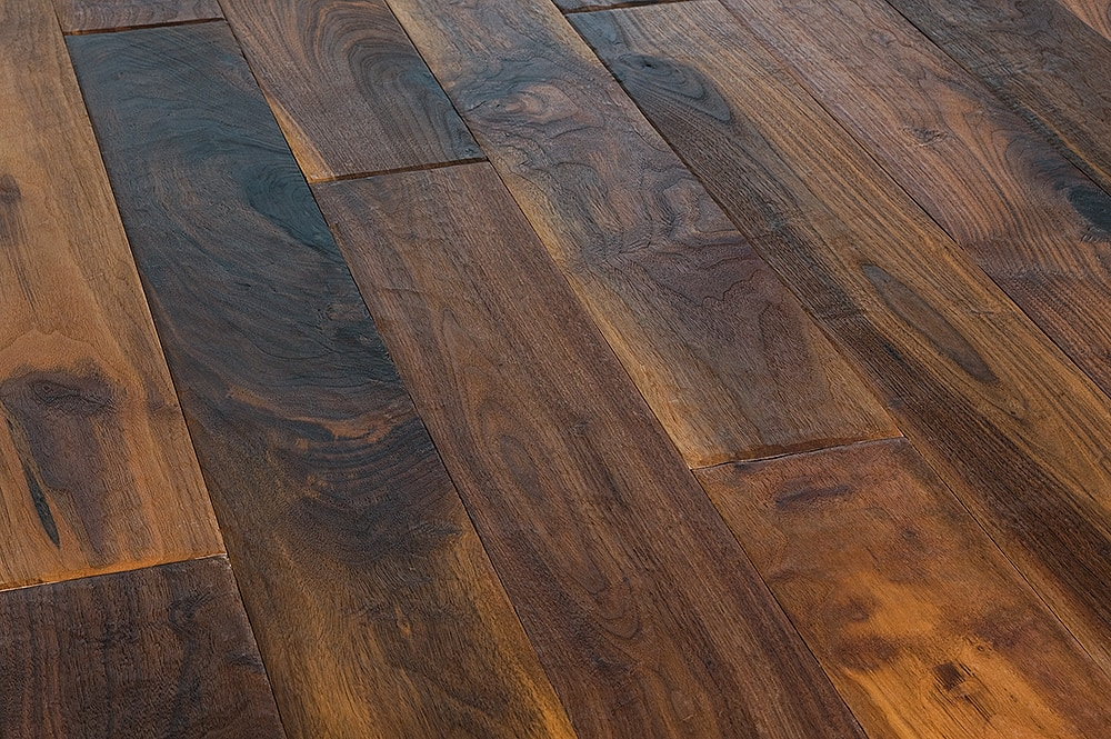 Jasper hardwood mountain home artisan collection walnut for Walnut hardwood flooring