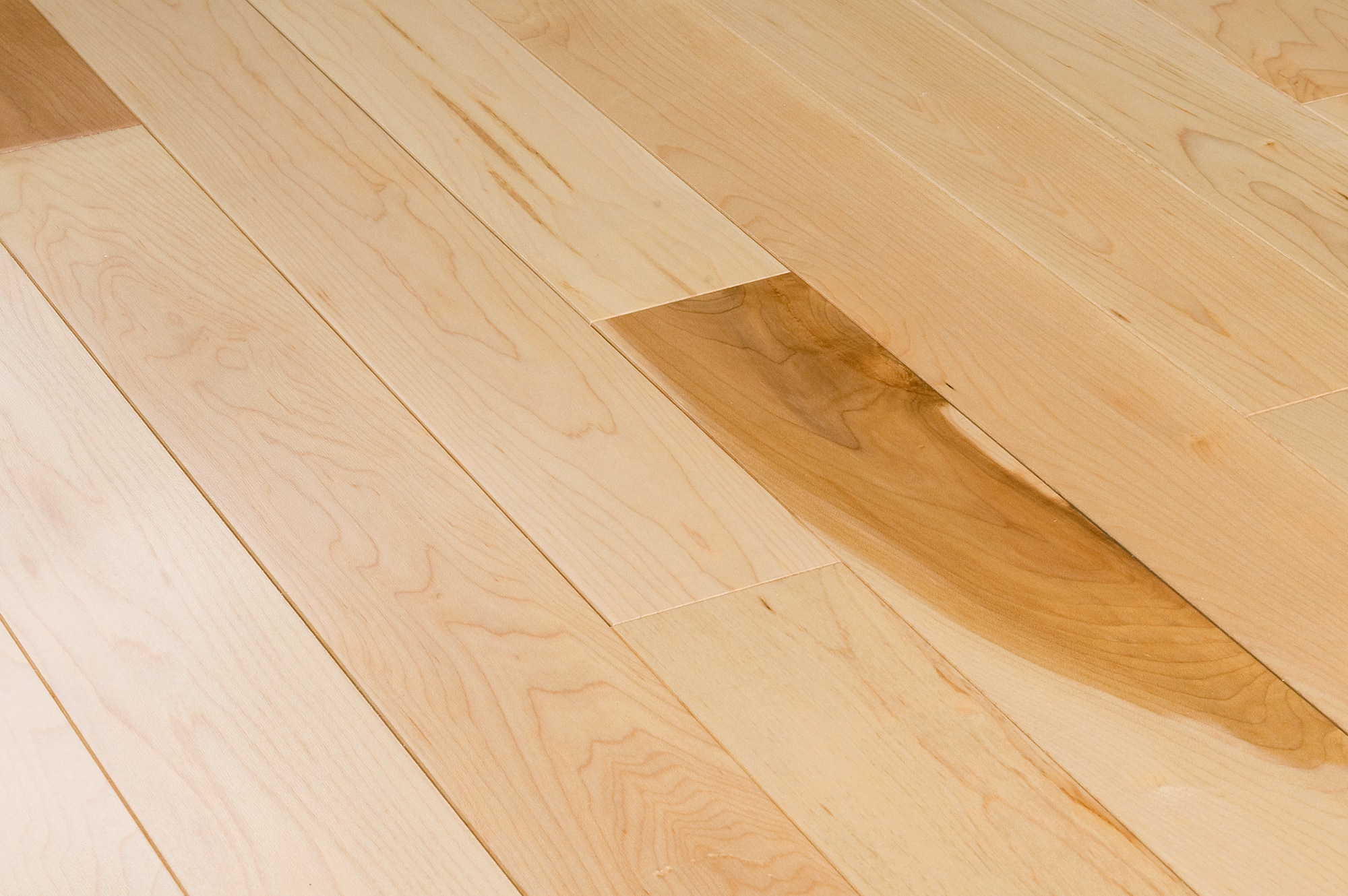 Jasper hardwood prefinished canadian hard maple for Maple hardwood flooring
