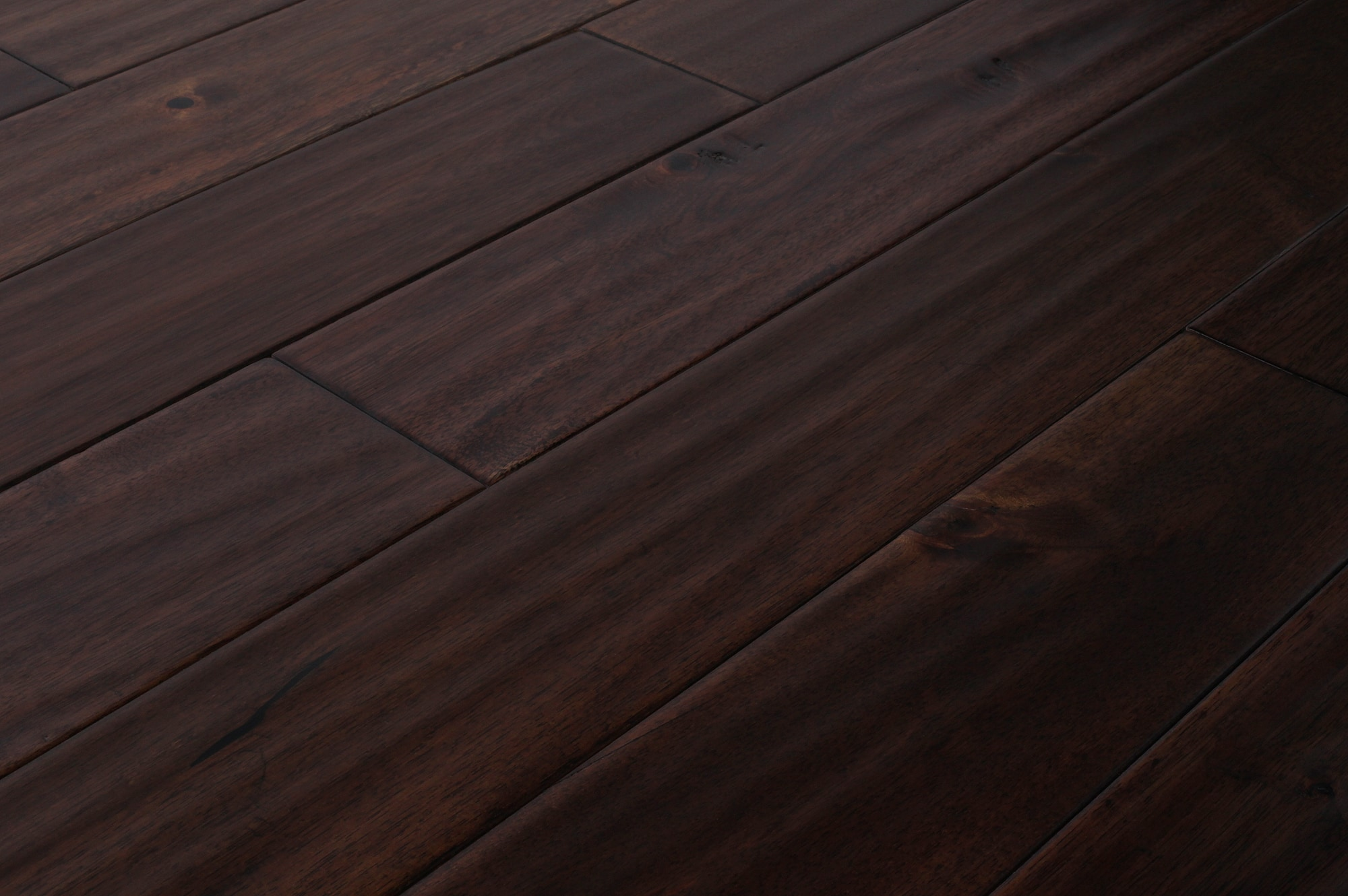 Mazama hardwood handscraped acacia collection oolong for Builder s pride flooring